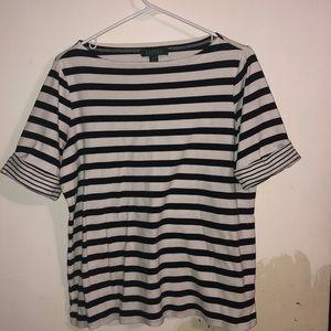 Ralph Lauren 1x Women's 3/4 Sleeve Shirt